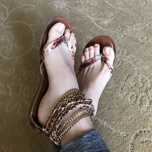 Shoes - Chain Sandals